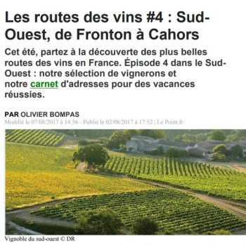 Route Des Vins Web